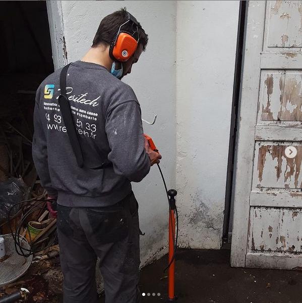 Recherche de fuite au traceur gaz
