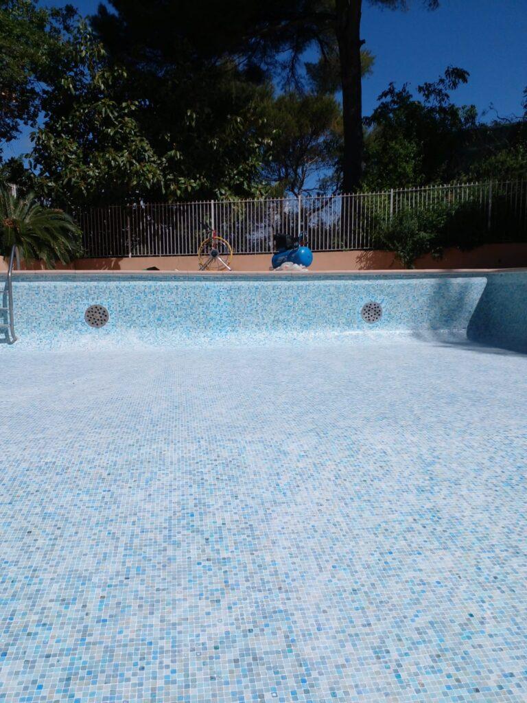 chemisage piscine nice rénovation